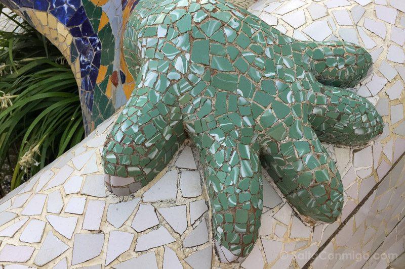 Park Guell Barcelona Salamandra Mano