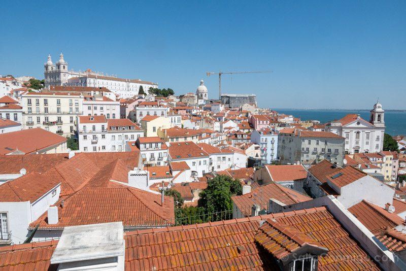 Que Hacer Ver En Lisboa Mirador Portas do Sol