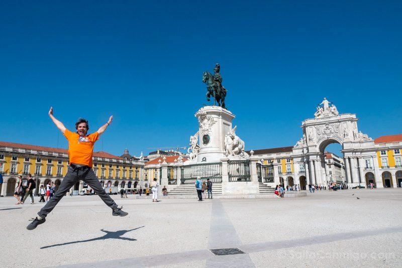 Que Hacer Ver En Lisboa Salto Plaza Comercio