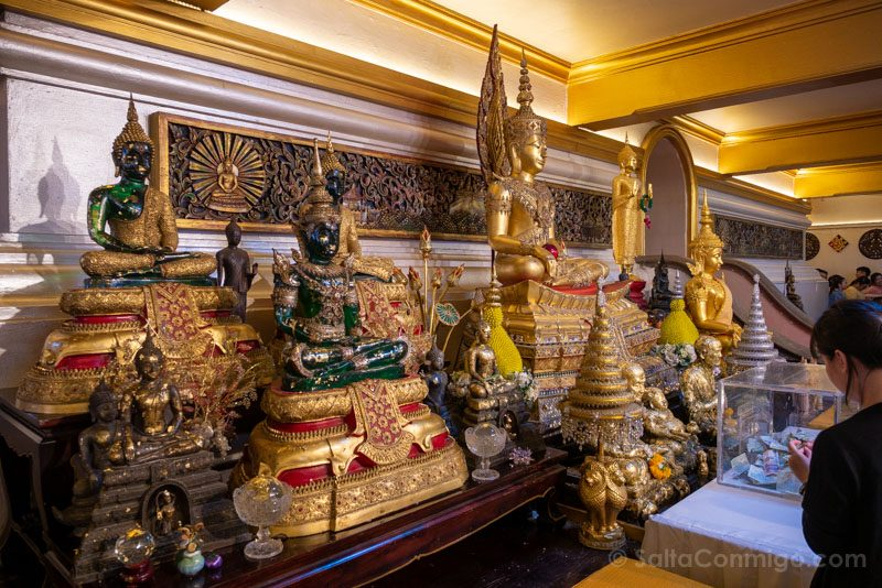 Templos de Bangkok Wat Saket Budas
