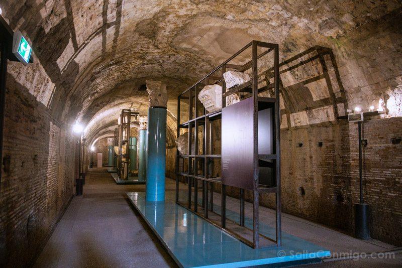 Termas De Caracalla Roma Museo Subterráneo