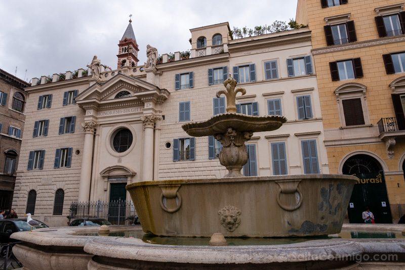 Termas De Caracalla Roma Plaza Farnese