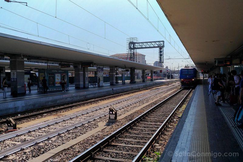 Bolonia Alrededores Estacion Tren