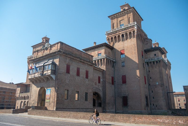 Bolonia Alrededores Ferrara Castello Estense