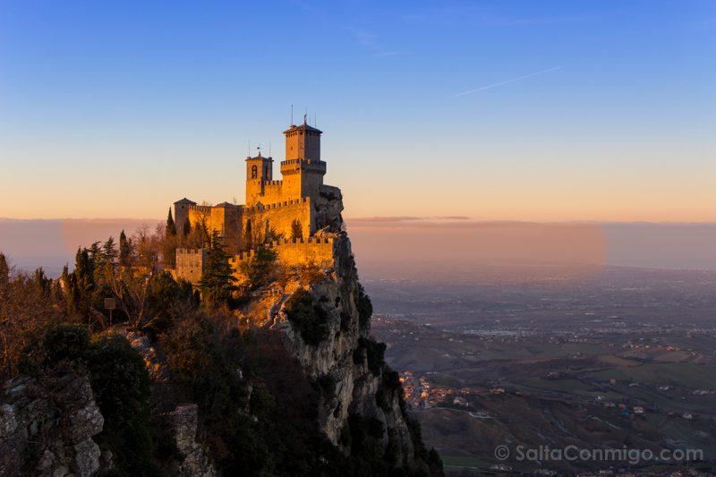 Bolonia Alrededores San Marino Rocca
