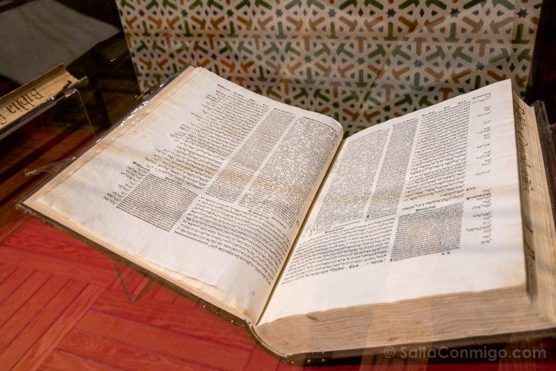Palacio Laredo Alcala de Henares Biblia Poliglota Complutense