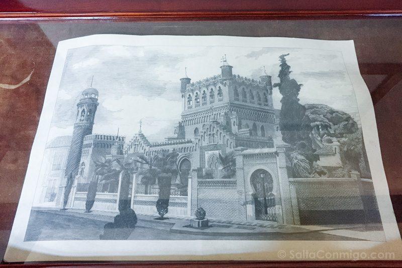 Palacio Laredo Alcala de Henares Lamina