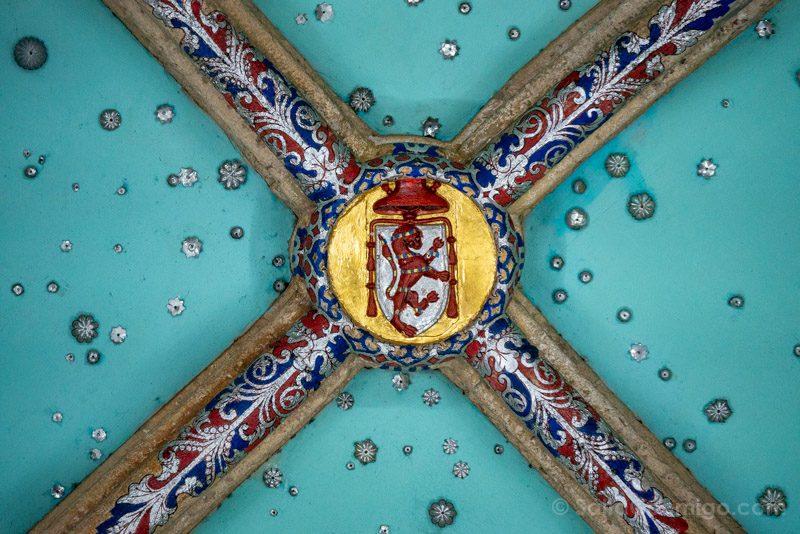Palacio Laredo Alcala de Henares Salon Reyes Clave Boveda