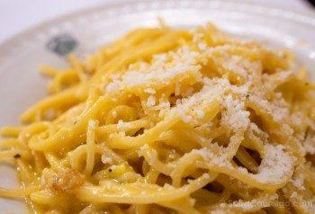 Platos Tipicos de Roma Spaghetti Alla Carbonara
