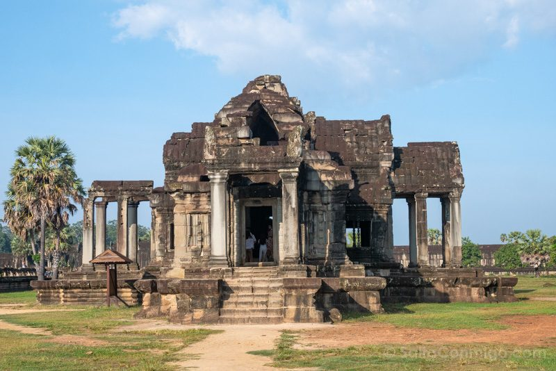 Que Ver En Angkor Wat Biblioteca Norte