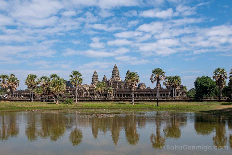 Que Ver En Angkor Wat Estanque Sur