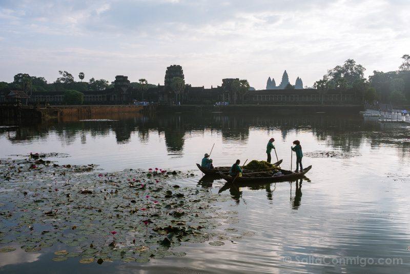 Que Ver En Angkor Wat Foso Barca