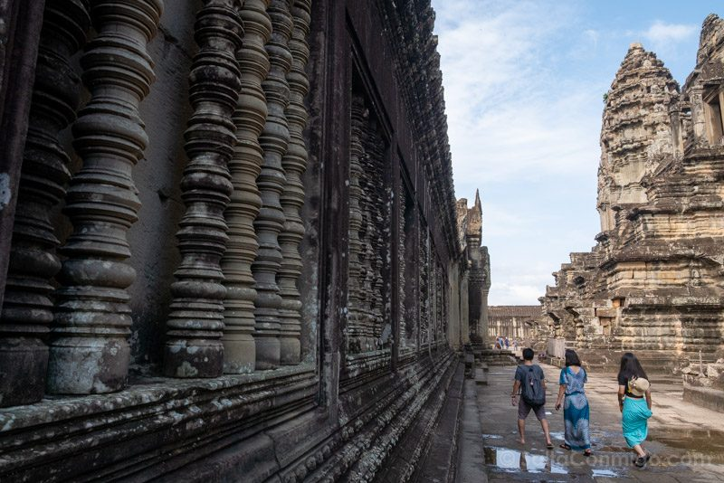 Que Ver En Angkor Wat Niveles Inferiores