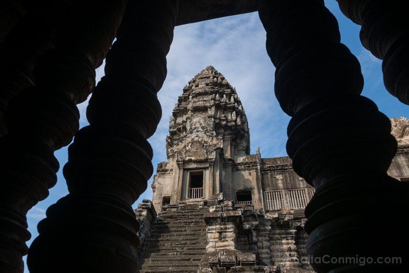 Que Ver En Angkor Wat Ventana Torre