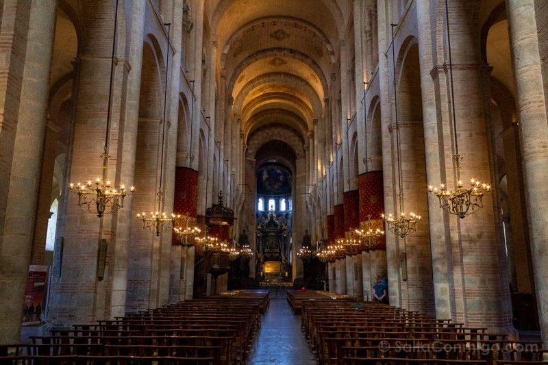 Que Ver En Toulouse Basilica San Sernin Interior