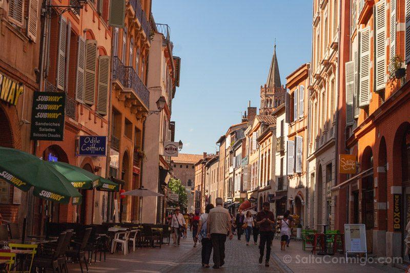 Que Ver En Toulouse Calle Centro
