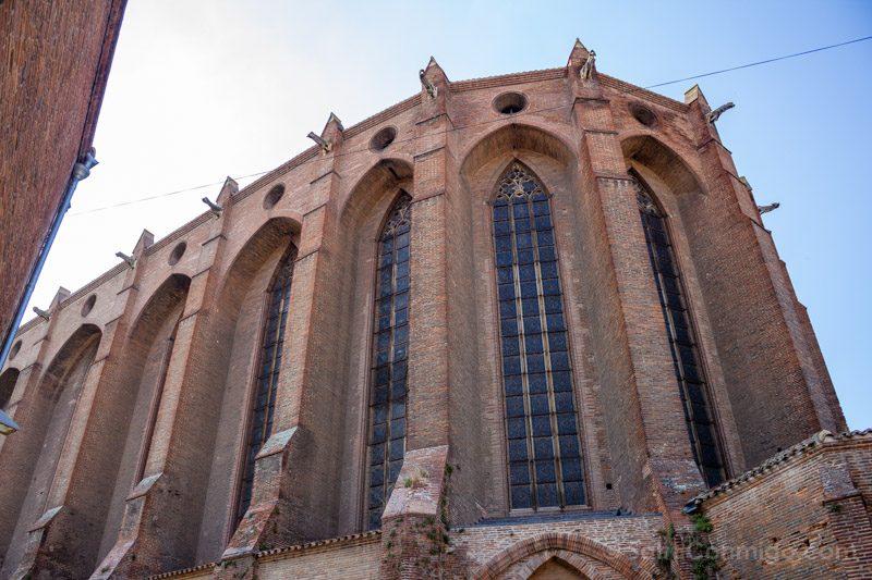 Que Ver En Toulouse Convento Jacobinos Exterior