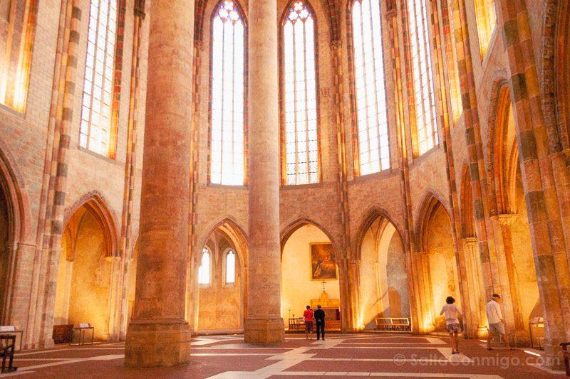 Que Ver En Toulouse Convento Jacobinos Palmier Jacobins Suelo