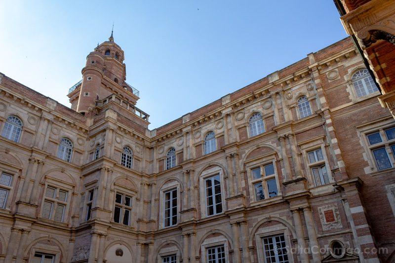 Que Ver En Toulouse Palacete d'Assézat Patio