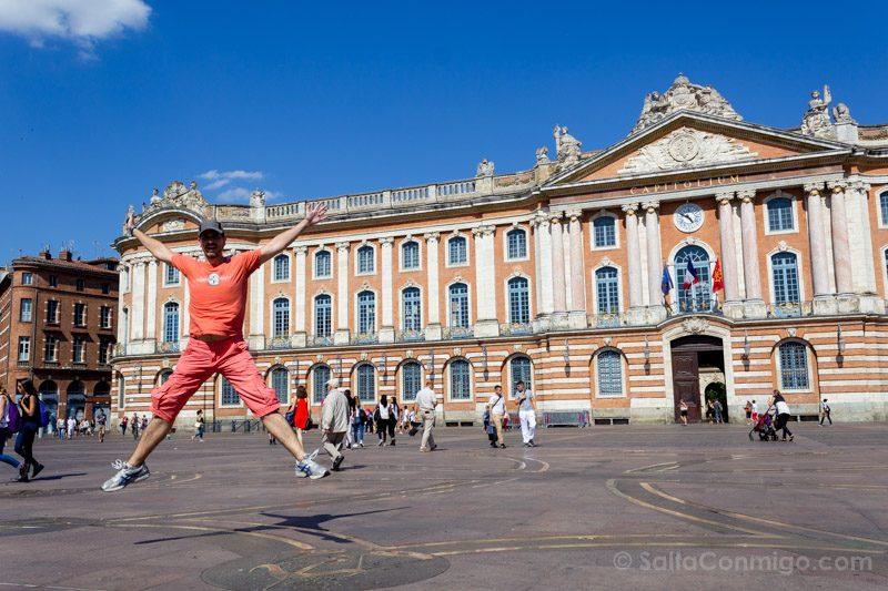 Que Ver En Toulouse Place Capitol Ayuntamiento Salto