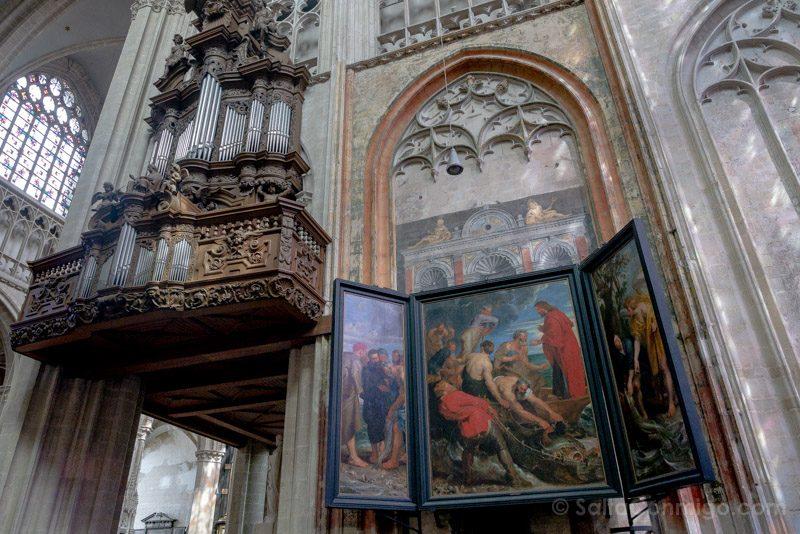 Que Ver en Malinas Onze-Lieve-Vrouw-over-de-Dijlekerk Triptico Rubens