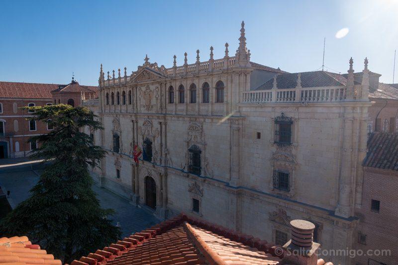 Universidad Alcala de Henares Fachada Lateral