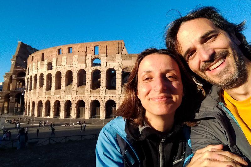Selfie Coliseo