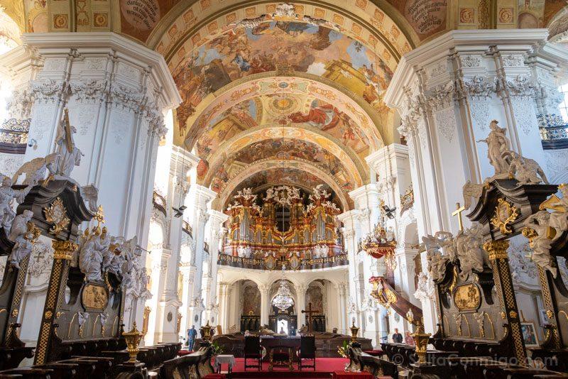 Abadia Krzeszów Polonia Basilica Asuncion Maria Nave