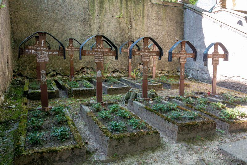 Abadia Krzeszów Polonia Cementerio