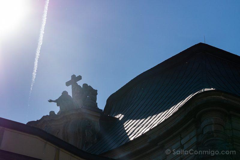 Abadia Krzeszów Polonia Estacion 33 Viacrucis