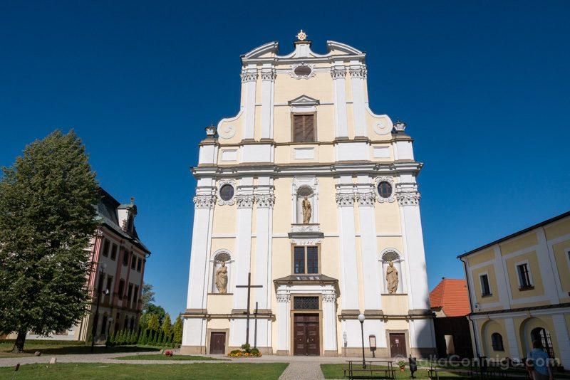 Abadia Krzeszów Polonia Iglesia San Jose Fachada