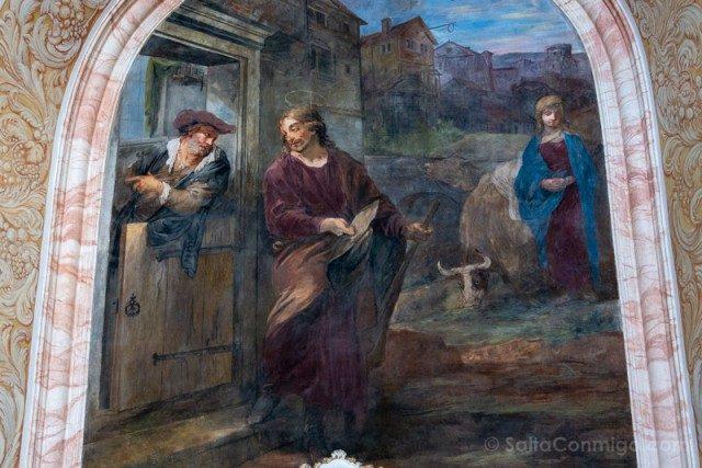 Abadia Krzeszów Polonia Iglesia San Jose Fresco Autorretrato Willmann