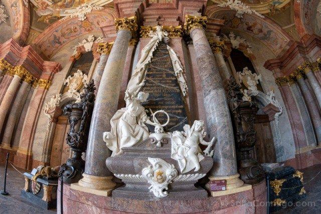 Abadia Krzeszów Polonia Mausoleo Piastas Epitafio Bolko III