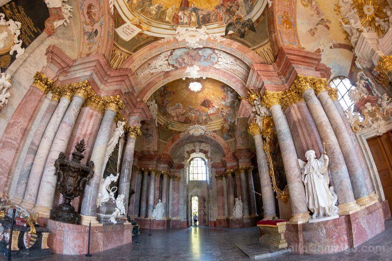 Abadia Krzeszów Polonia Mausoleo Piastas