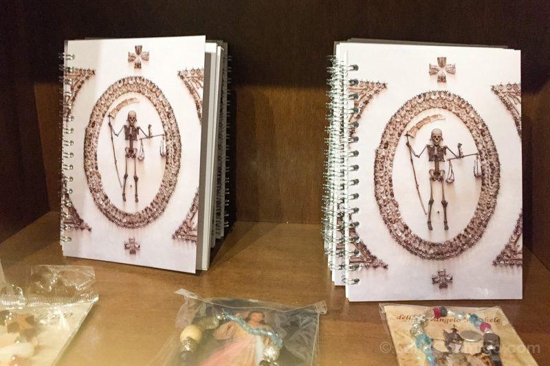 Cripta de los Capuchinos de Roma Cuadernos
