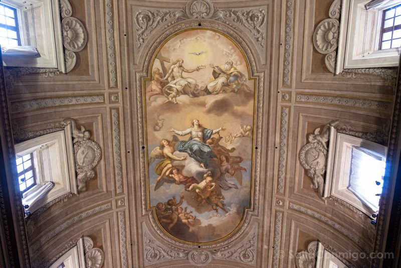Iglesia Santa Maria Concepcion de los Capuchinos de Roma Techo