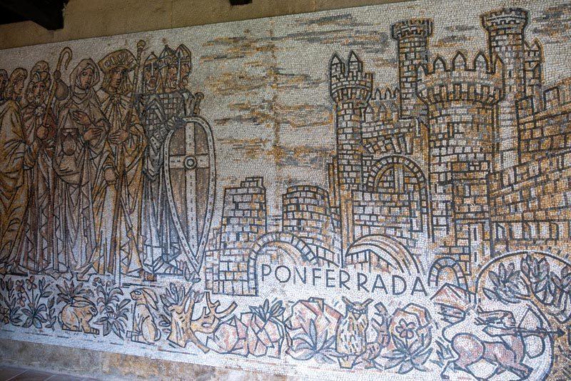 Monasterio San Juan Poio Claustro Cruceiro Mosaico Ponferrada