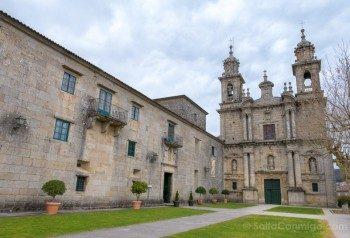 Monasterio San Juan Poio Fachada