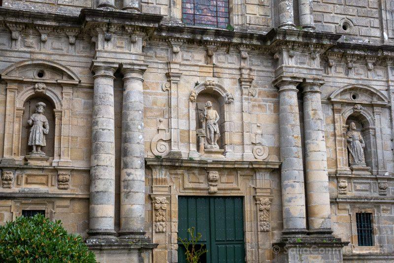 Monasterio San Juan Poio Iglesia Fachada