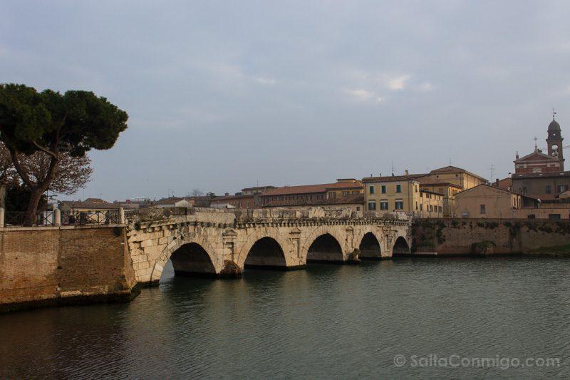 Que Ver En Rimini Puente Tiberio