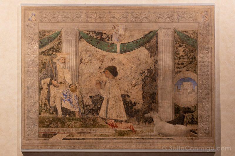 Que Ver En Rimini Templo Malatestiano Fresco Piero Francesca