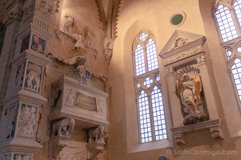 Que Ver En Rimini Templo Malatestiano Tumba Isotta