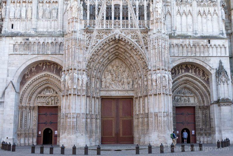 Que Visitar En Rouen Catedral Fachada