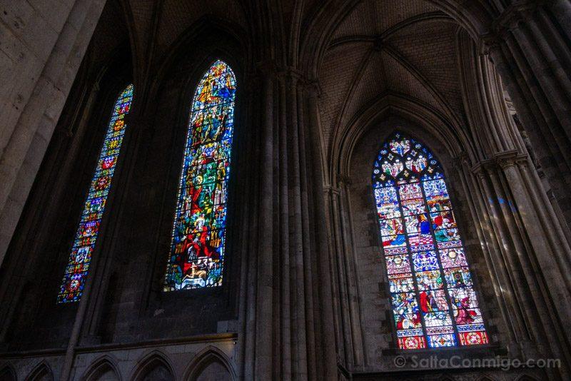 Que Visitar En Rouen Catedral Vidrieras