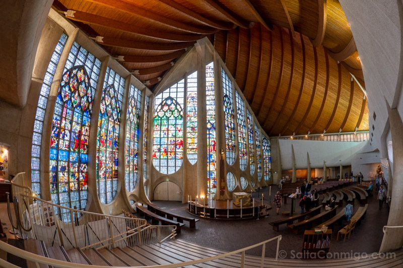 Viajar A Rouen Iglesia Juana de Arco Interior
