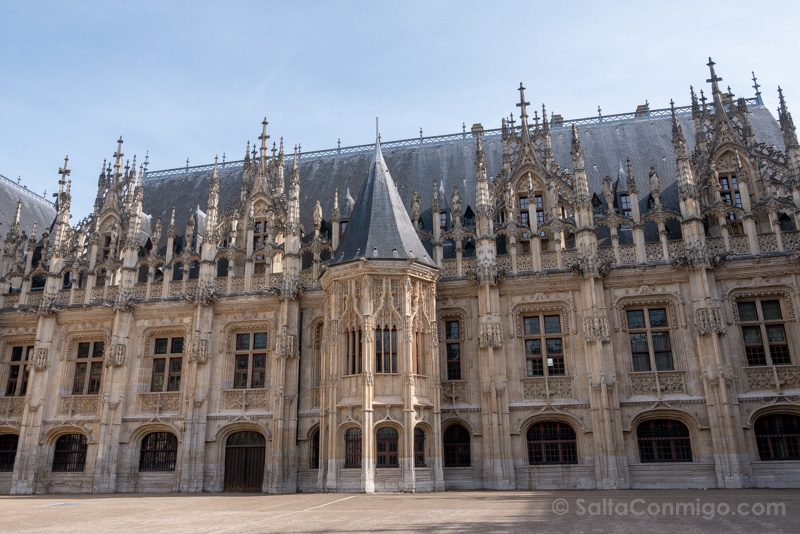 Que Ver En Rouen Palacio Justicia
