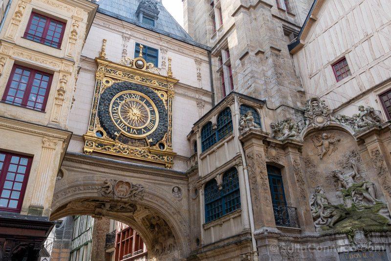 Que Ver En Rouen Reloj