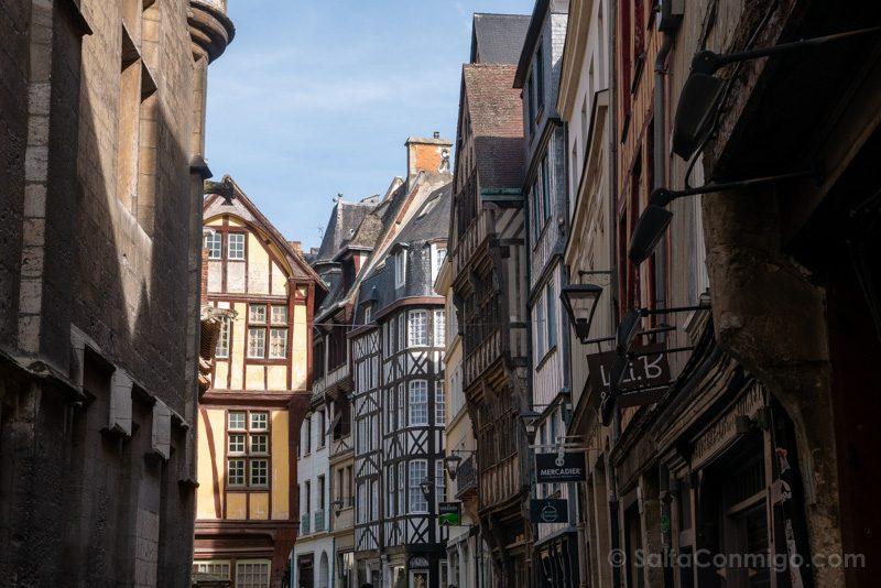 Lugares Turisticos En Rouen Rue Saint-Romain