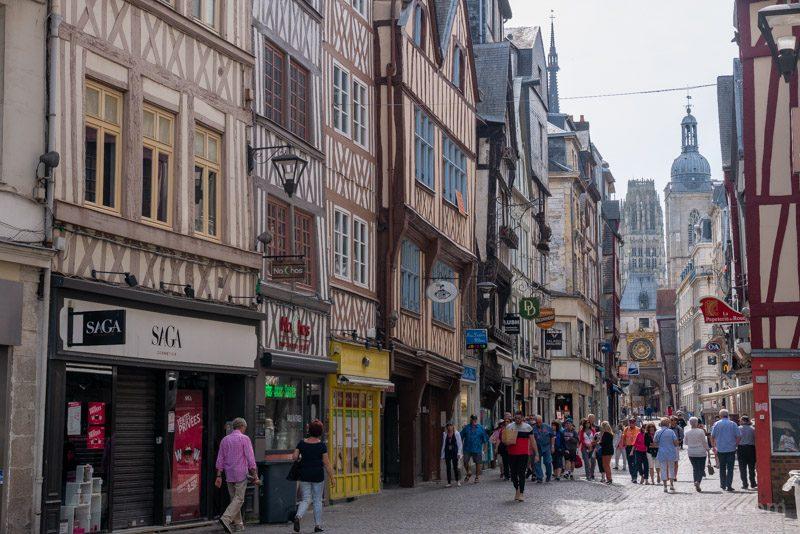 Rouen Que Ver Rue du Gros Horloge