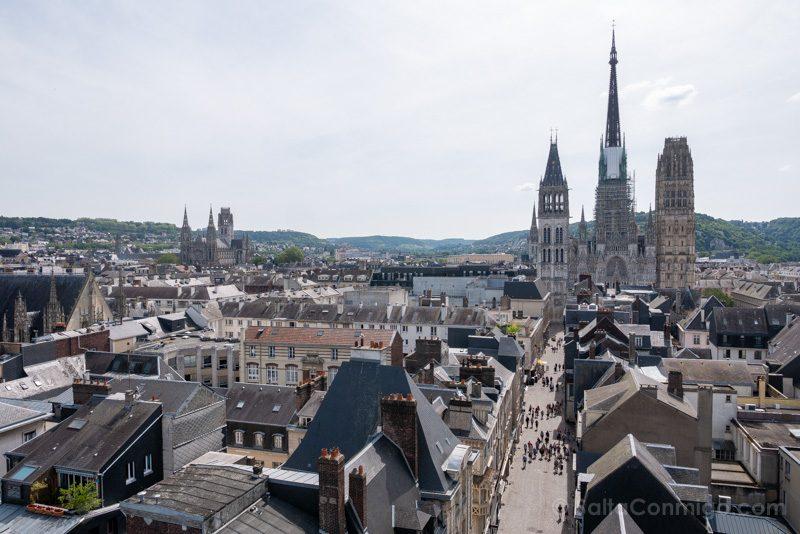 Que Hacer En Rouen Torre Reloj Vista